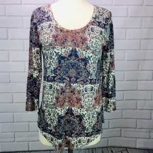 Lucky Brand tunic Top Womens Small NWT